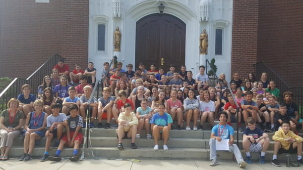 Grade 7 - Summer Faith Program - Reading Catholic Community
