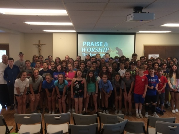 Reading Catholic Community - Summer Program - Grade 8 (2019)