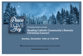 Participate in Remote Christmas Concert