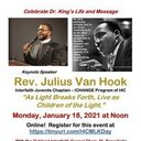 Celebrate Dr. King's Life & Message w/ Rev. Julius VanHook