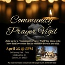 Ecumenical Community Prayer Vigil honoring loved ones lost to violence in Oakland