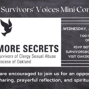 Lifting Survivors' Voices Mini Conference on August 18