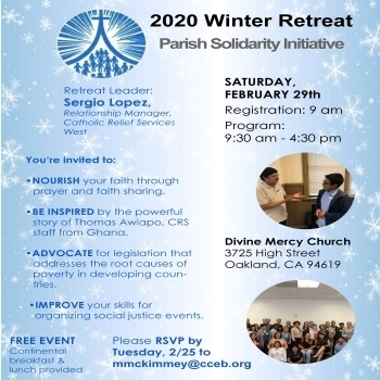 Parish Solidarity Initiative Winter Retreat