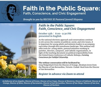 Faith in the Catholic Square - Faith Conscience and Civil Engagement
