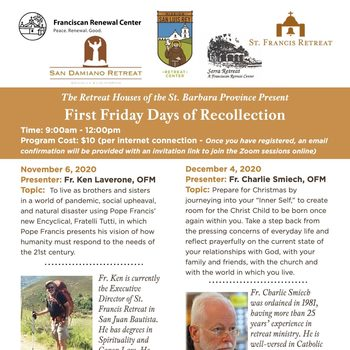 First Friday Days of Recollection (Online Session)