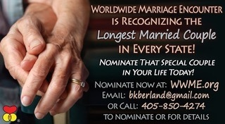 Worldwide Marriage Project seeking nominations
