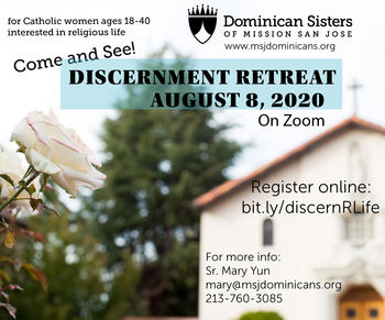 Women's Religious Life Discernment Retreat