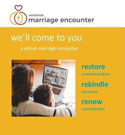 Worldwide Marriage August Event Goes Virtual