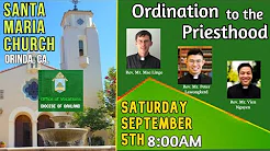 Mass of Ordination to the Priesthood
