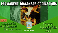 Diaconal Ordination Mass Online