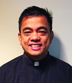 Father Jimmy Macalinao, Director of the Office of Faith Formation and Evangelization