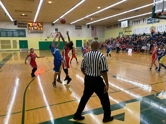 CYO Basketball Playoffs