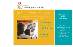 Worldwide Marriage Encounter Virtual Weekend