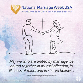 Pray a rosary for married couples and families