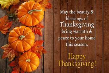 Parish Offices will be closed Thursday-Saturday Nov. 22nd -24th