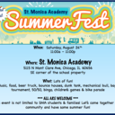 St. Monica Summerfest Coming Soon!