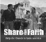 SPECIAL COLLECTION REMINDER for Church in Latin America
