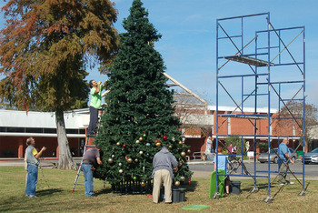 OLDP CHRISTMAS TREE ASSEMBLY