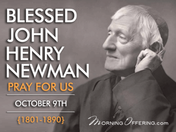 Saint of the Day - Blessed John Henry Newman