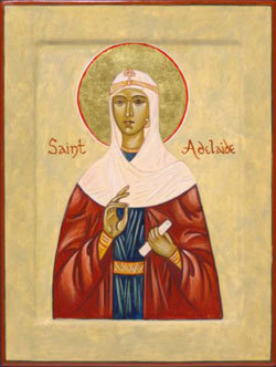 Saint of the Day ` Saint Adelaide of Burgandy