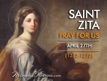 Saint of the Day - Saint Zita of Lucca