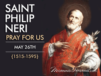 Saint of the Day - Saint Philip Neri