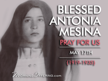 Saint of the Day - Blessed Antonia of Mesina