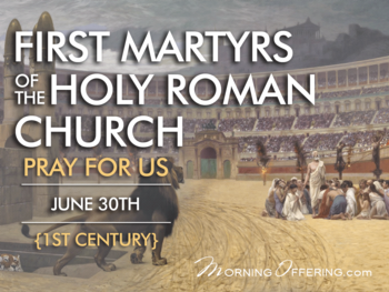 First Martyrs of the Holy Roman Church