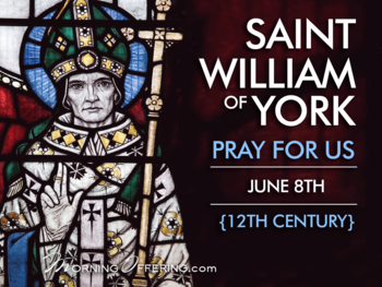 Saint of the Day - Saint William of York
