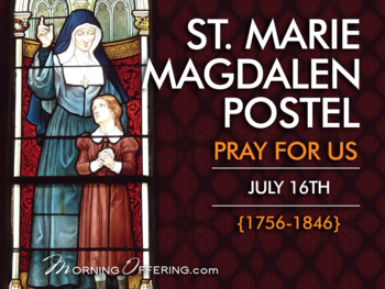 Saint of the Day - Saint Magdalen