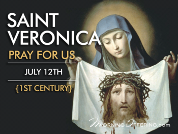 Saint of the Day - Saint Veronica