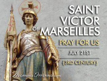 Saint of the Day - Saint Victor of Marseille