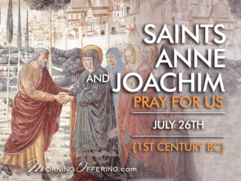 Saint of the Day - Saints Anne and Joachim
