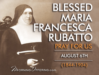 Saint of the Day - Blessed Maria