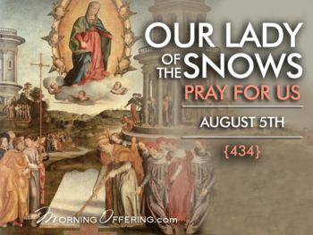 Feast Day - Our Lady of the Snows