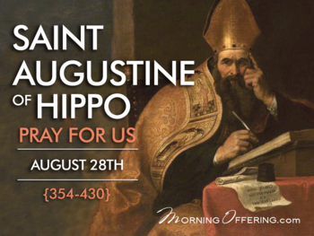 Saint of the Day - Augustine of Hippo