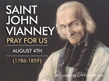 Saint of the Dat - Saint John of Vianney