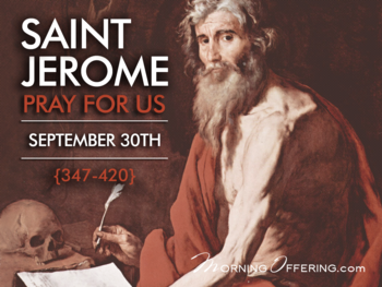 Saint of the Day - Saint Jerome