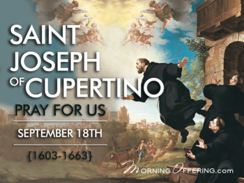 Saint of the Day - Saint Joseph of Cupertino