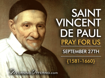 Saint of the Day - Saint Vincent de Paul