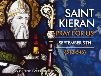 Saint of the Day - Saint Kieran