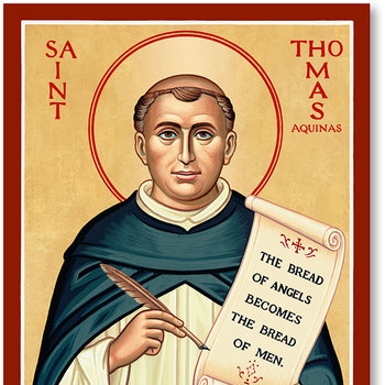Saint of the Day - Saint Thomas Aquinas