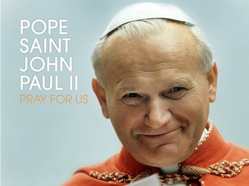 Saint of the Day - Pope Saint John Paul II