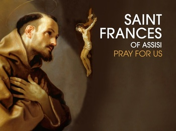Saint of the Day - Saint Francis of Assisi
