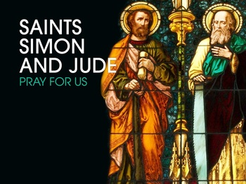 Saint of the Day - Saints Simon and Jude