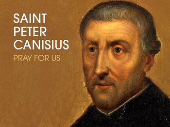 Saint of the Day - Saint Canisius