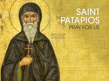 Saint of the Day - Saint Patapios
