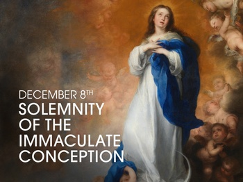 Feast Day - The Immaculate Conception of the Blessed Virgin Mary