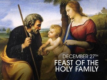 Feast Day - the Holy Family