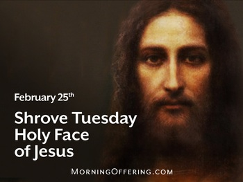 Feast Day - Shrove Tuesday